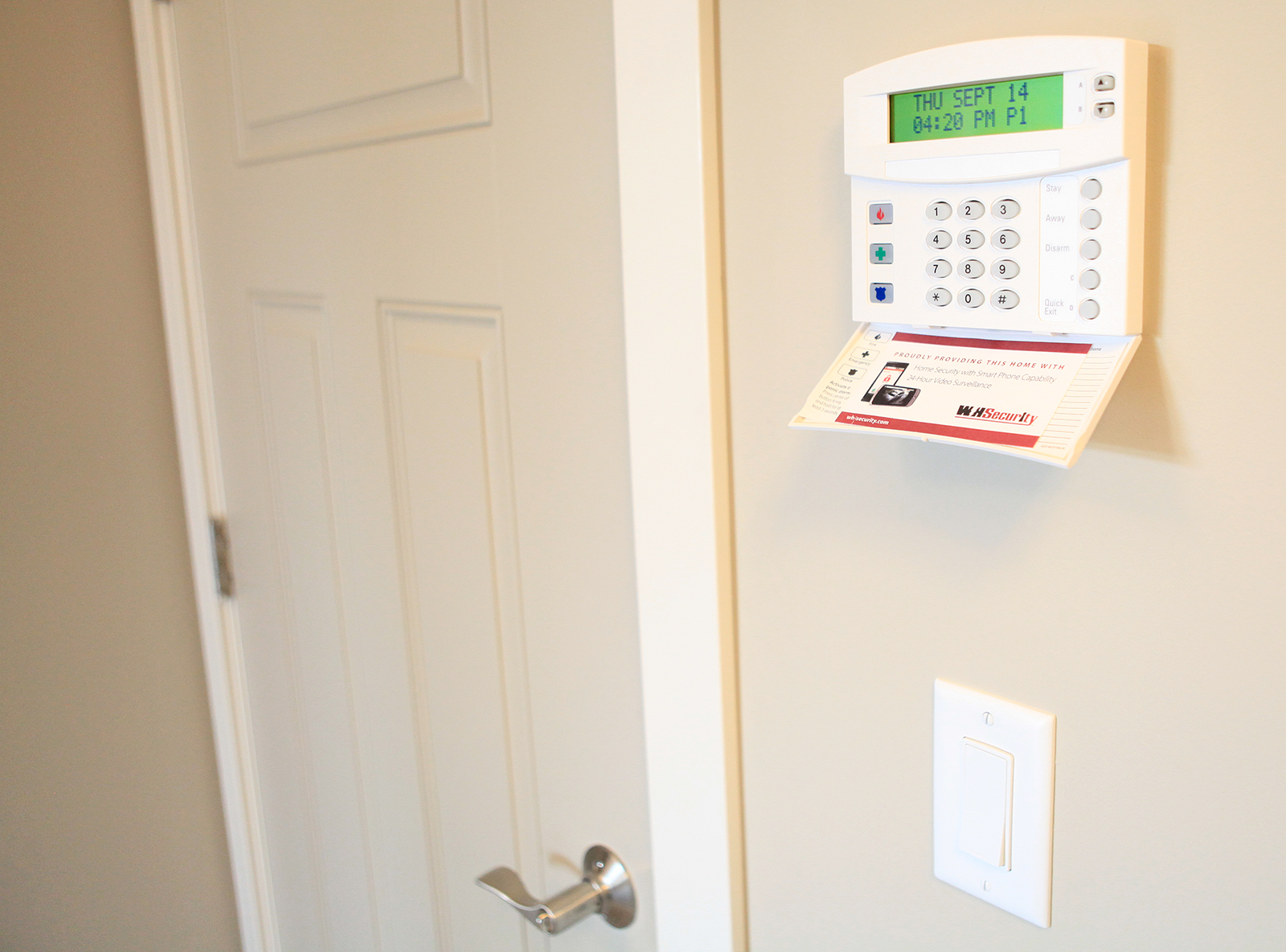 Parade of Homes security system